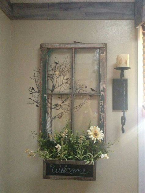 thrifty decorating old windows as wall decor old window frame decor diy pinterest window frame