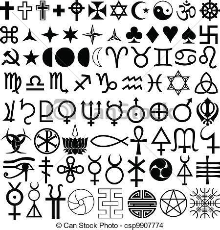 imagenes y simbolos en el arte eps vector de s 237 mbolos religi 243 n historia csp9907774