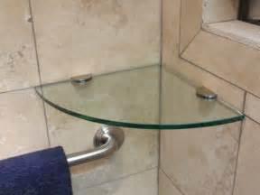 glass shower shelves style the homy design