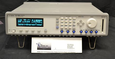 pattern generator keysight agilent keysight 81130a pulse pattern generator 400mhz
