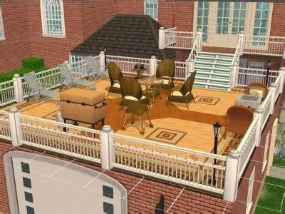 Floating Deck Over Flat Roof   ulsga