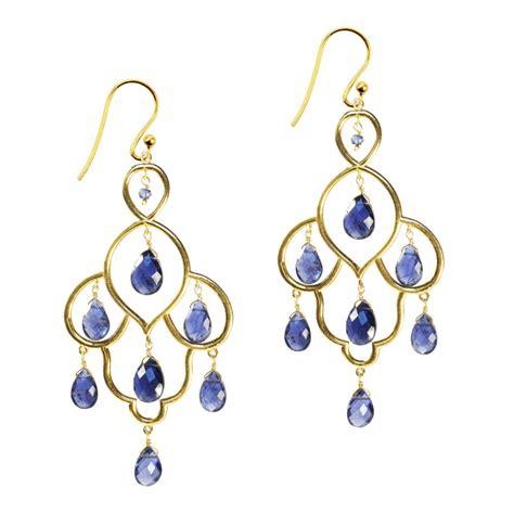 Layla Earrings layla earrings iolite by sushilla notonthehighstreet