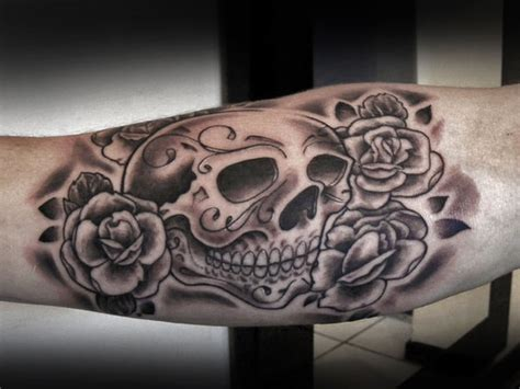 43 mexican gangster skull tattoos