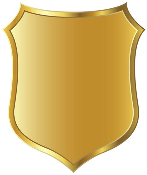 badge clip art gold badge template clipart picture trippy s party