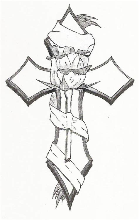 cross tattoo template afrenchieforyourthoughts tribal cross tattoos cross