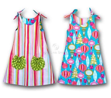 free pattern jumper dress girls dress pattern reversible tie top jumper pdf sewing