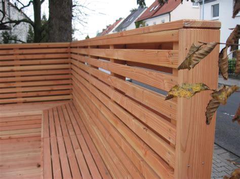 Zaun Mit Sichtschutz 202 by Z 228 Une Aus Holz Und Metall Teichbau Moseler Ihr