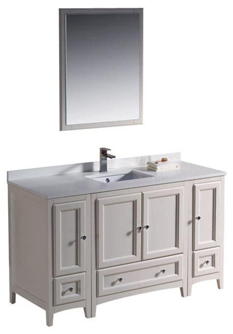54 inch bathroom vanity sink 54 inch single sink bathroom vanity in antique white