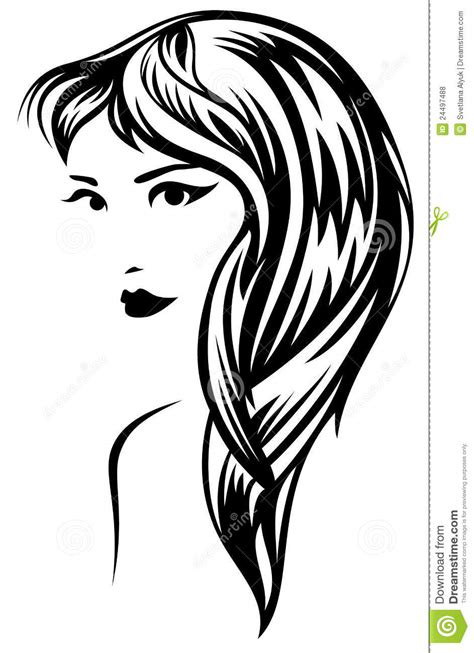 long hair free vector art 1906 free downloads long hair vector royalty free stock photos image 24497488
