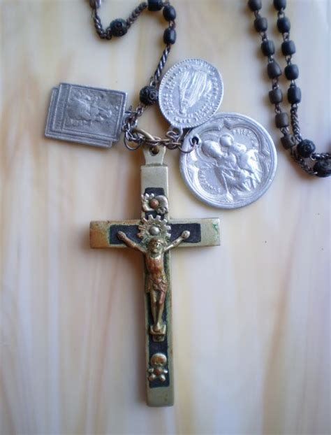who uses rosary collecting antique rosaries religious medals on antique
