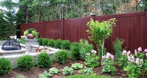 best backyard fence best new backyard idea is mahogany wood grain illusions