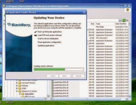 tutorial flash hp bb 8520 cara instal ulang blackberry gemini 8520 cara flash bb