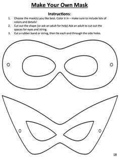 printable zorro mask template super hero mask free template things to make