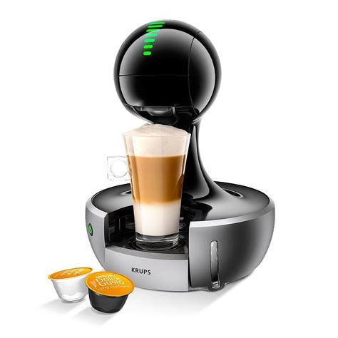 krups dolce gusto drop coffee machine silver krups