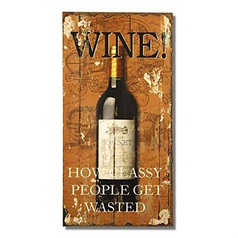 wine home decor adeco sp0211 vintage decorative wall plaque saying quot wine