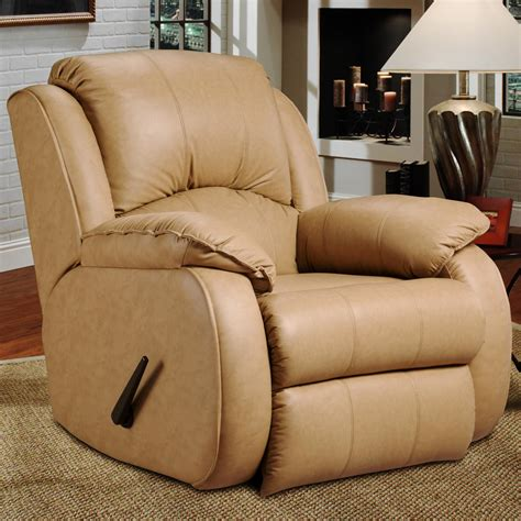 southern upholstery southern motion cagney powerized rocker recliner with