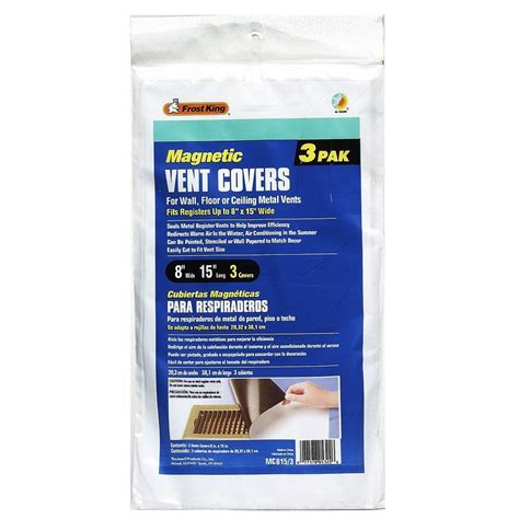 magnetic fireplace vent covers e o magnetic vent covers mc815 the home depot