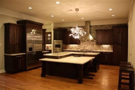 kitchens with dark brown cabinets chocolate brown cabinets transitional kitchen