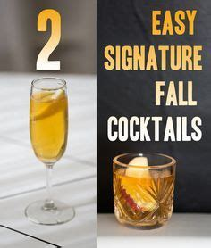 10 signature cocktails serve at your fall wedding