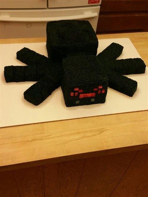 minecraft spider cake minecraft party pinterest minecraft spider spider cake  spider