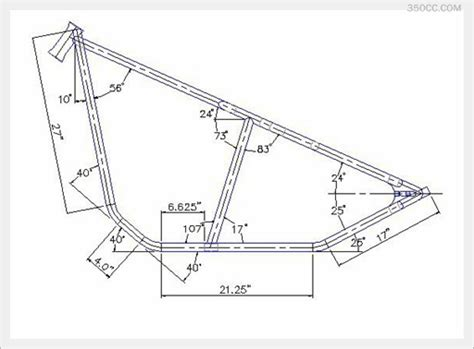 a frame blueprints chopper frame blueprints pdf file educationmemo