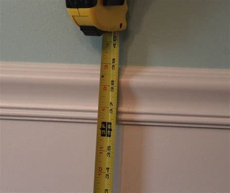 how to determine where to place a chair rail - Chair Rail Molding Height
