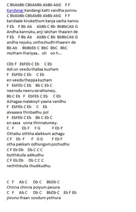 tamil theme songs keyboard notes kandangi kandangi jilla keyboard notes it s me