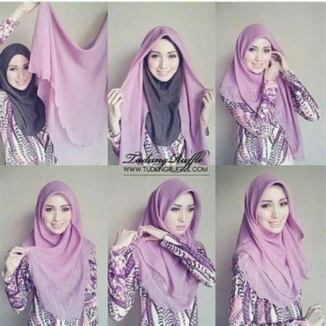tutorial hijab pasmina ombre rawis best 25 hijab tutorial ideas on pinterest hijab style