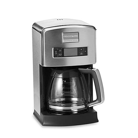 bed bath and beyond coffee makers frigidaire professional 174 12 cup drip coffee maker bed bath beyond