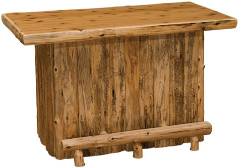 liquid glass bar top cedar liquid glass finish top bar from fireside lodge 16560 coleman furniture