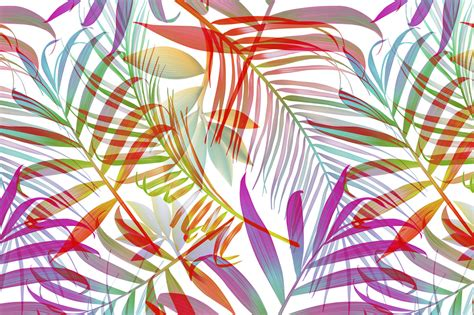 tropical pattern background free tropical pattern jungle palm leaves patterns on