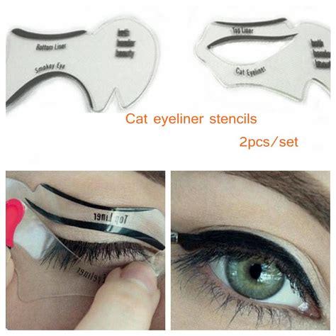 tutorial eyeliner stencil makeup eyeliner stencils mugeek vidalondon