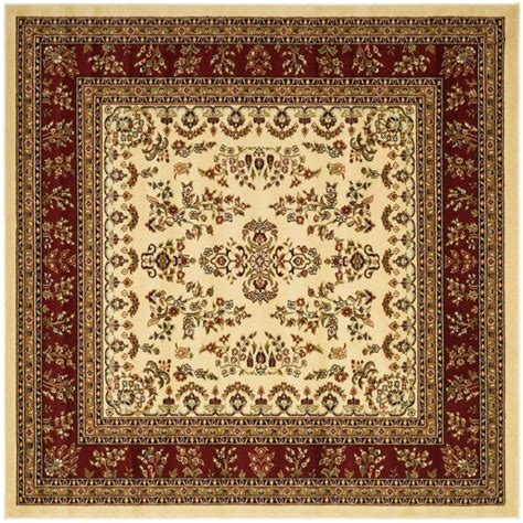 8 square area rug safavieh lyndhurst ivory 8 ft x 8 ft square area rug lnh331a 8sq the home depot