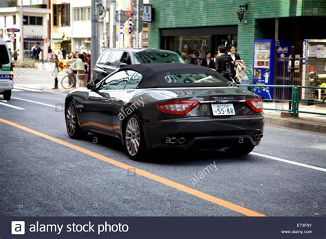 maserati street maserati car on the street omote sando harajuku area