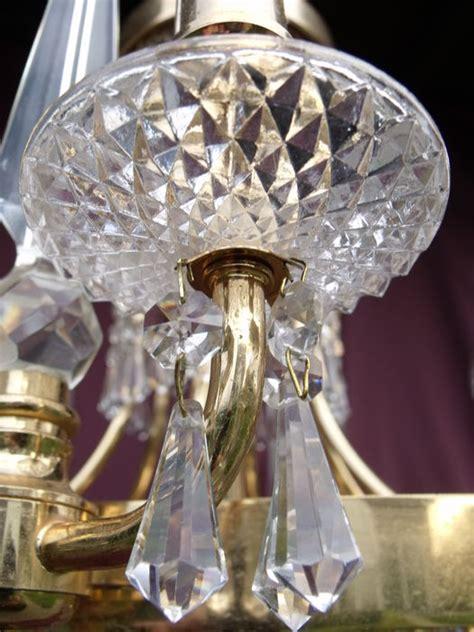 lustre om vintage kroonluchter luster lustre chandelier met geslepen