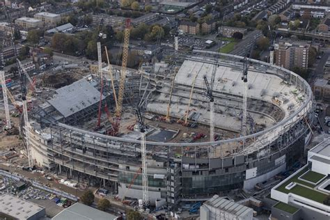 stadium new stadium tv amp timelapse video tottenham hotspur