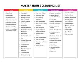 cleaning price list template 25 best ideas about weekly chore charts on