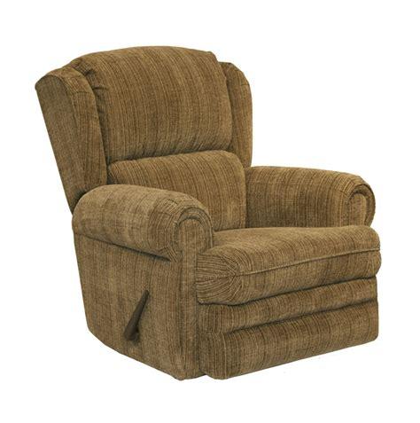 catnapper power recliners kirkland power rocker recliner in mocha fabric by