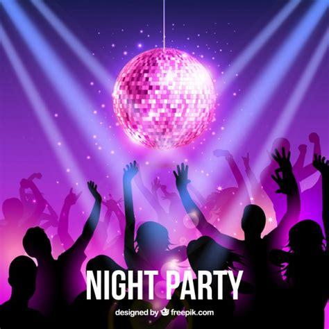 imagenes vectores fiesta fiesta nocturna descargar vectores gratis