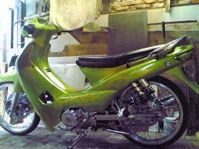 Modifikasi Supra X 125 Hijau by Honda Supra X Modifikasi Inspirasi Terbaru