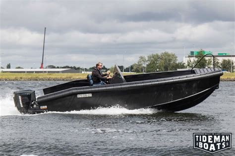 hdpe boat hull new tideman boats the only dutch specialist in high