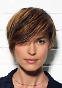 balayage cheveux courts chatain