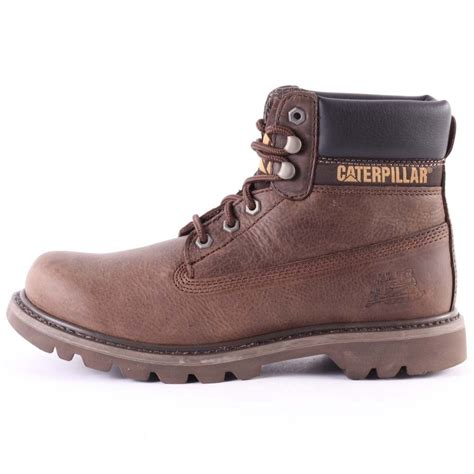 caterpillar colorado mens boots in brown