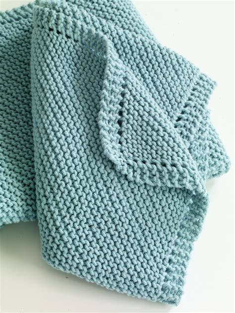 how to knit a baby blanket easy pattern serenity knits december 2012