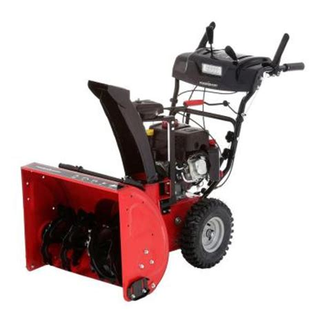 powersmart 24 in 212cc two stage gas snow blower with