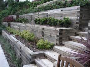 landscaping ideas for landscaping steep hill