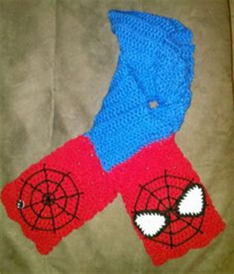 crochet pattern for spiderman scarf 1000 images about crochet superheros on pinterest