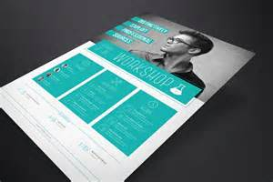 indesign flyer templates corporate flyer template workshop stockindesign