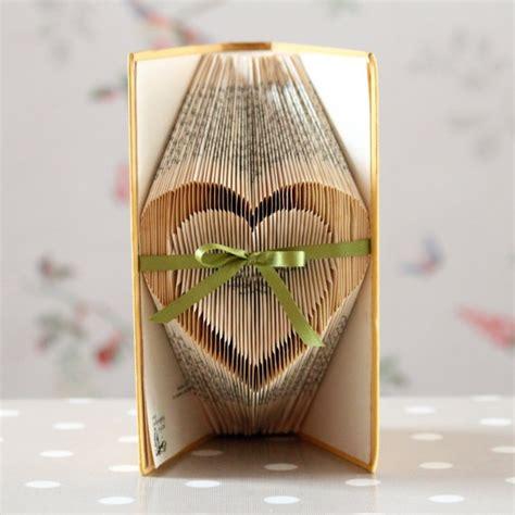 folded book art pattern heart pin by teaspoon heaven on hearts romantic pinterest