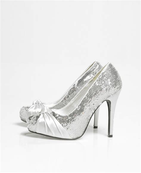 silver prom shoes for 2016 wedding and fashion
